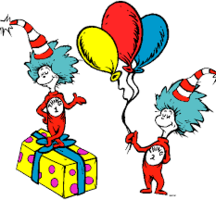 Dr. Seuss Birthday Party!!  RESCHEDULED