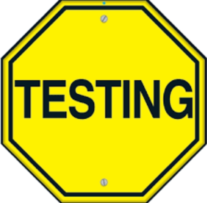 Upcoming Tests
