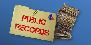 Public Records Announcement
