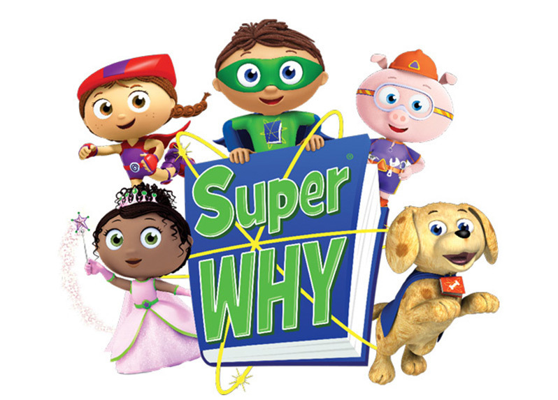 Super Why! To Visit Book Express