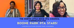 Congratulations, Boone Park PTA Founder's Day Honorees!