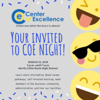 COE night Invitation