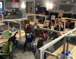 Despite COVID-19, NLR Rotary Continues Book Presentation for District's Kindergartners