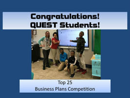 Top 25 in Business Plans Competition