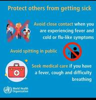Information from Nurse Brook about protecting friends and family from the virus