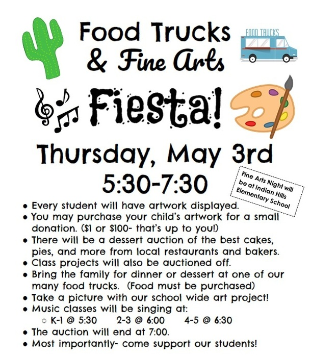 Food Trucks & Fine Arts Fiesta