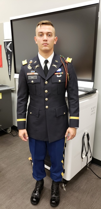 Army officer J. Dial