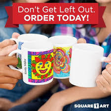 Don't Get Left Out. Order Square Art Today!