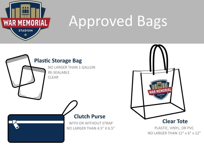Approved Bag Policy