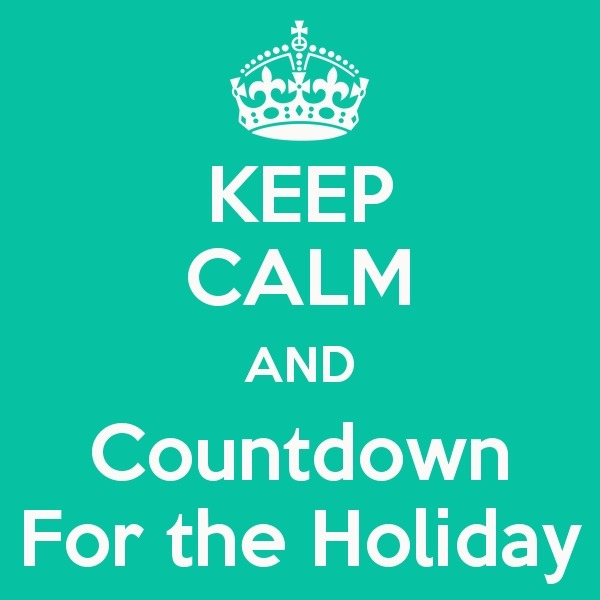 Holiday Countdown!