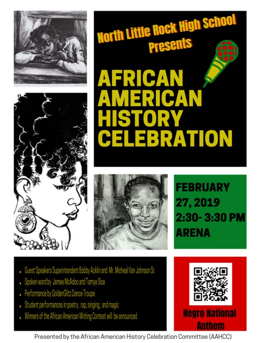 African American History flyer