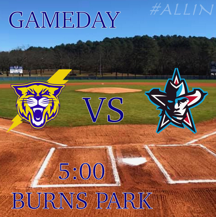 Big conference game tonight at home, it's going to be a great night for baseball!! #nlrbaseball