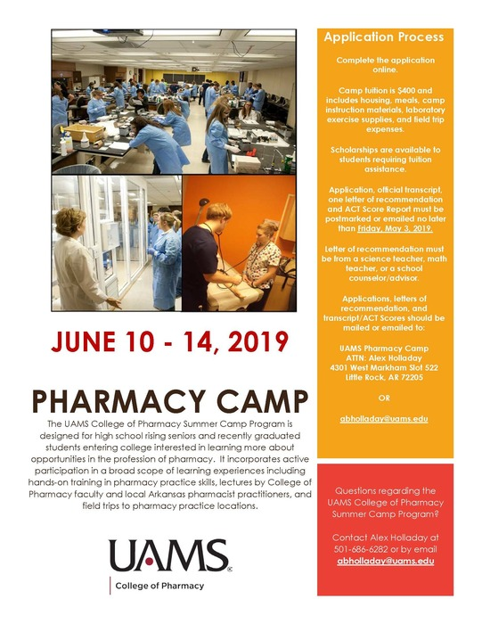 pharmacy camp