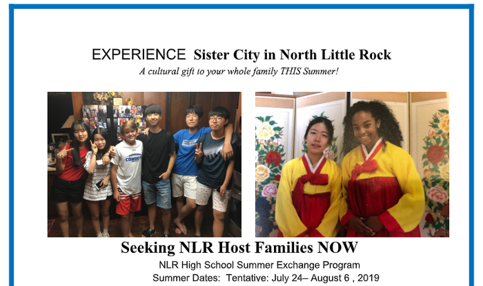 Sister City Summer Exchange Program