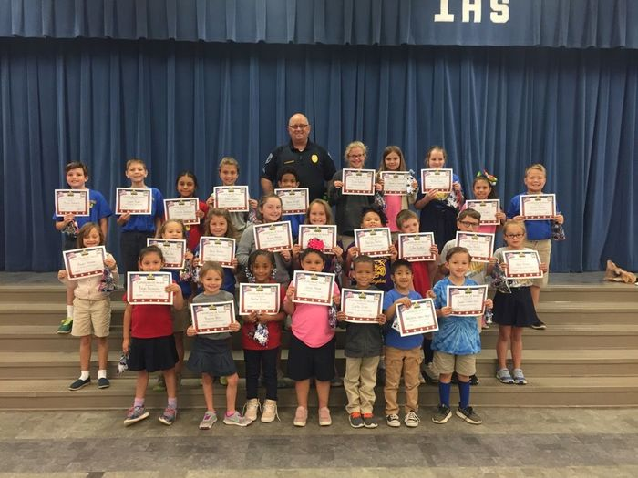 September Good Character Students