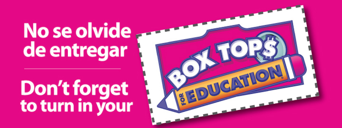 Collect Box Tops for Education