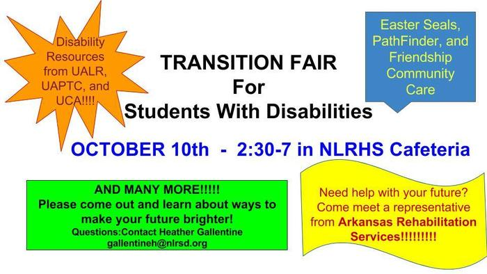 Transition Fair for Disabled Students