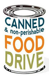 Canned& Non-Perishable Food Drive