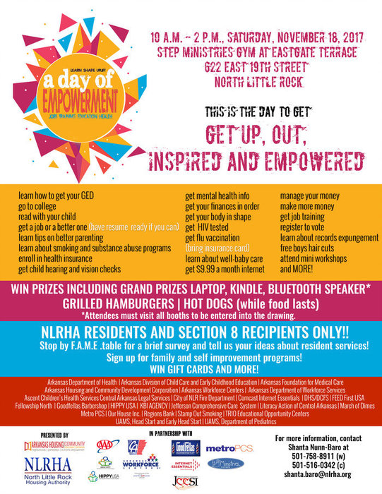 Day of Empowerment flyer