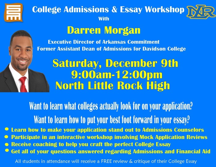 College Admissions & Essay Workshop
