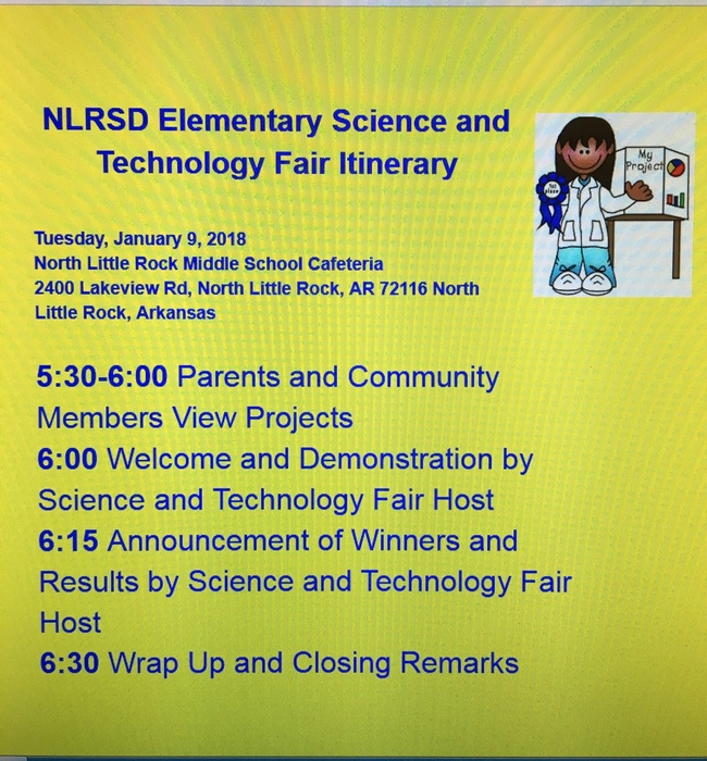 Science Fair Flyer