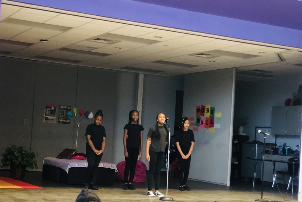 "5th Grade girls perform ""Glory"" during the Black History Program"