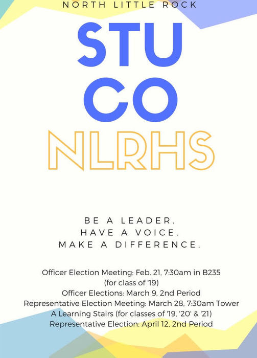Student Council Election flyers