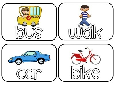 bus walk car bike