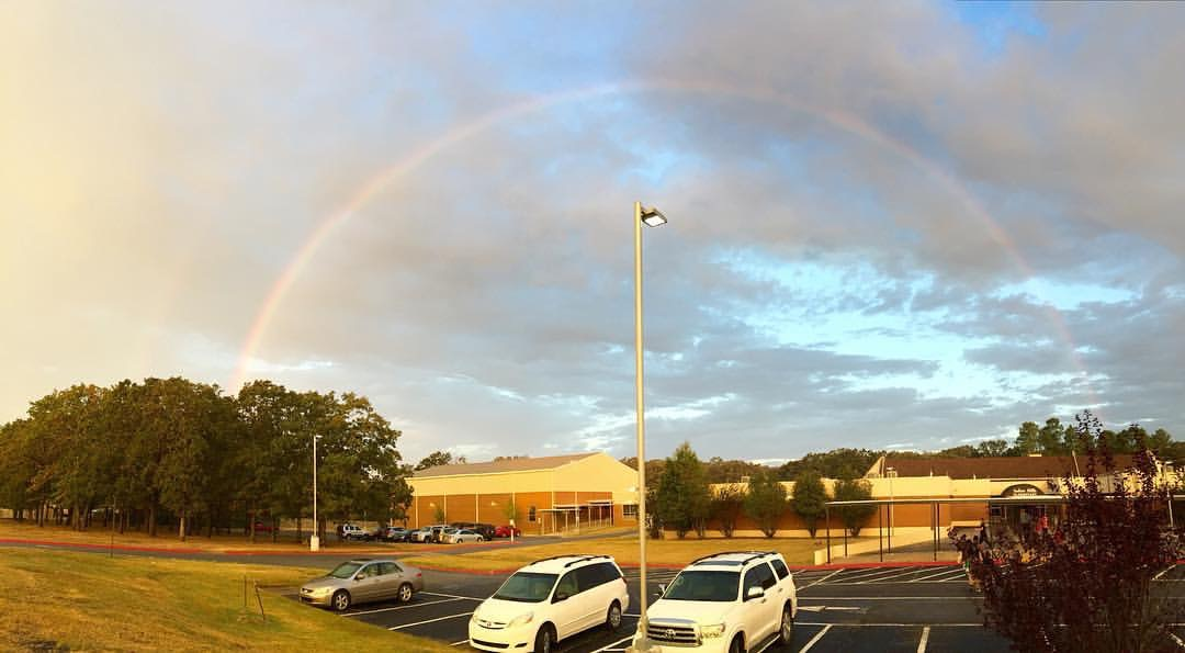 Our school is the pot of gold!